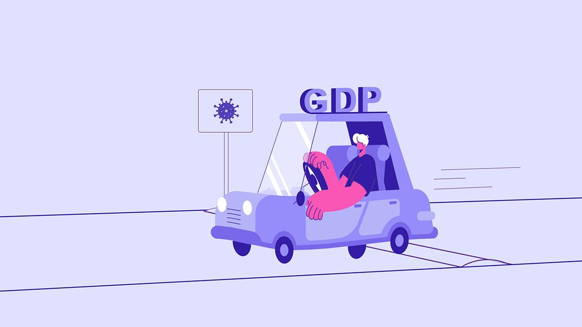 What does the GDP growth figure tell us?